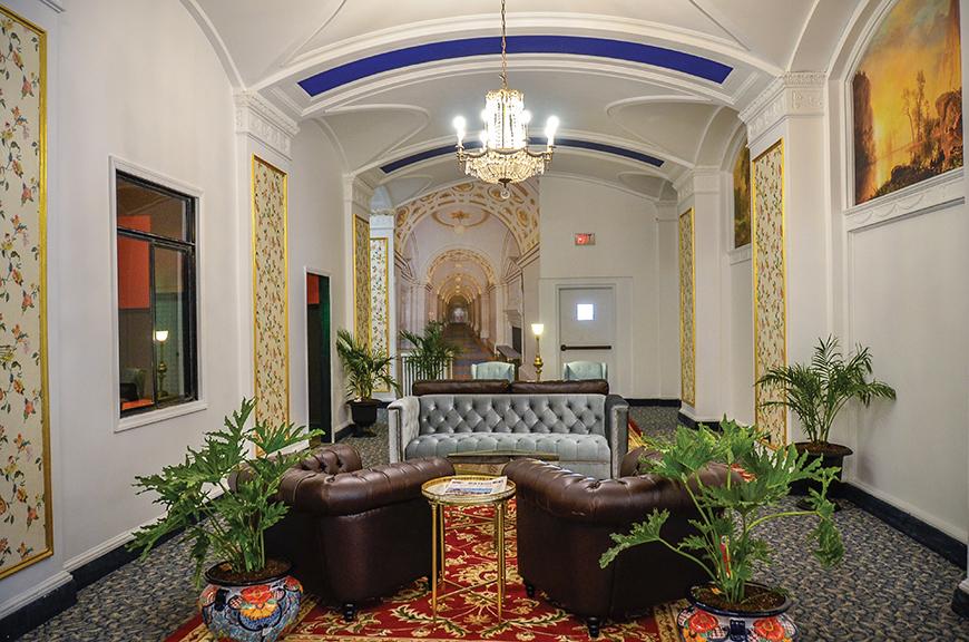 Castleton Lobby Design